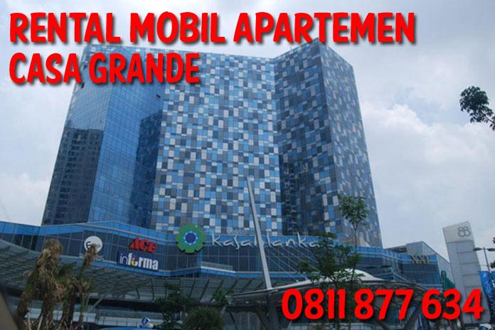 Sewa Rental Mobil Casa Grande unit Lengkap Harga Kompetitif