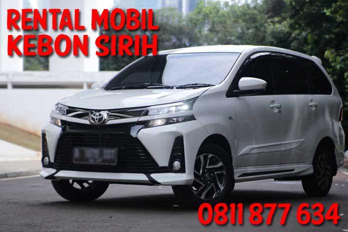 Jasa Rental Mobil Kebon Sirih Menteng Sewa Harian Gratis Sopir Harga Murah