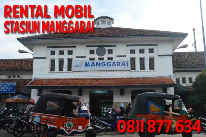 Sewa Rental Mobil di Stasiun Manggarai Harga Murah Unit Lengkap Free Driver